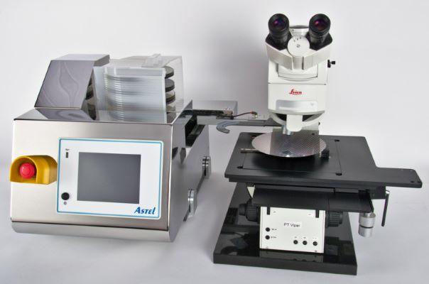 显微镜和圆晶自动进样