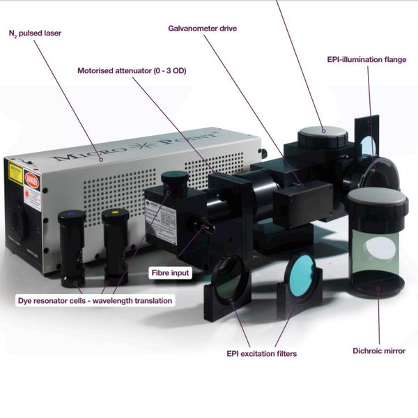 MicroPoint 脉冲式亚细胞辐照仪